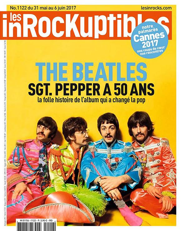 Les 50 ans de « Sgt. Pepper » dans le magazine  « Les Inrockuptibles »