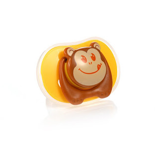 Cute Cartoon Pacifier Brown