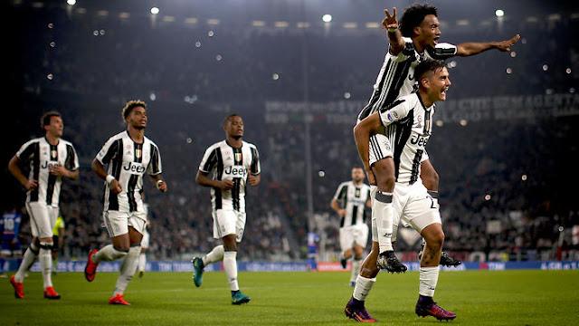 Cuadrado Dybala Juventus Ligue des Champions