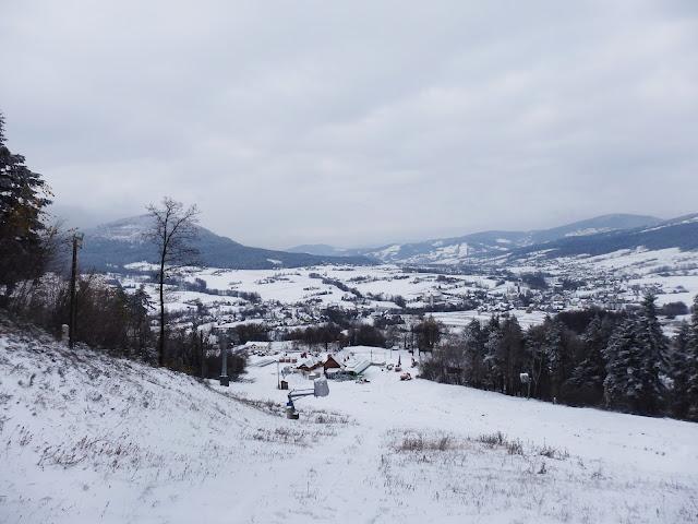 Listopad zaskoczył opadami śniegu