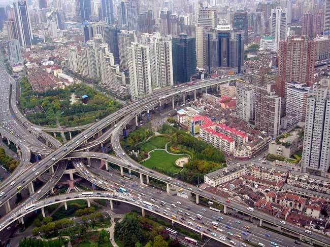 Puxi Viaduct Shanghai