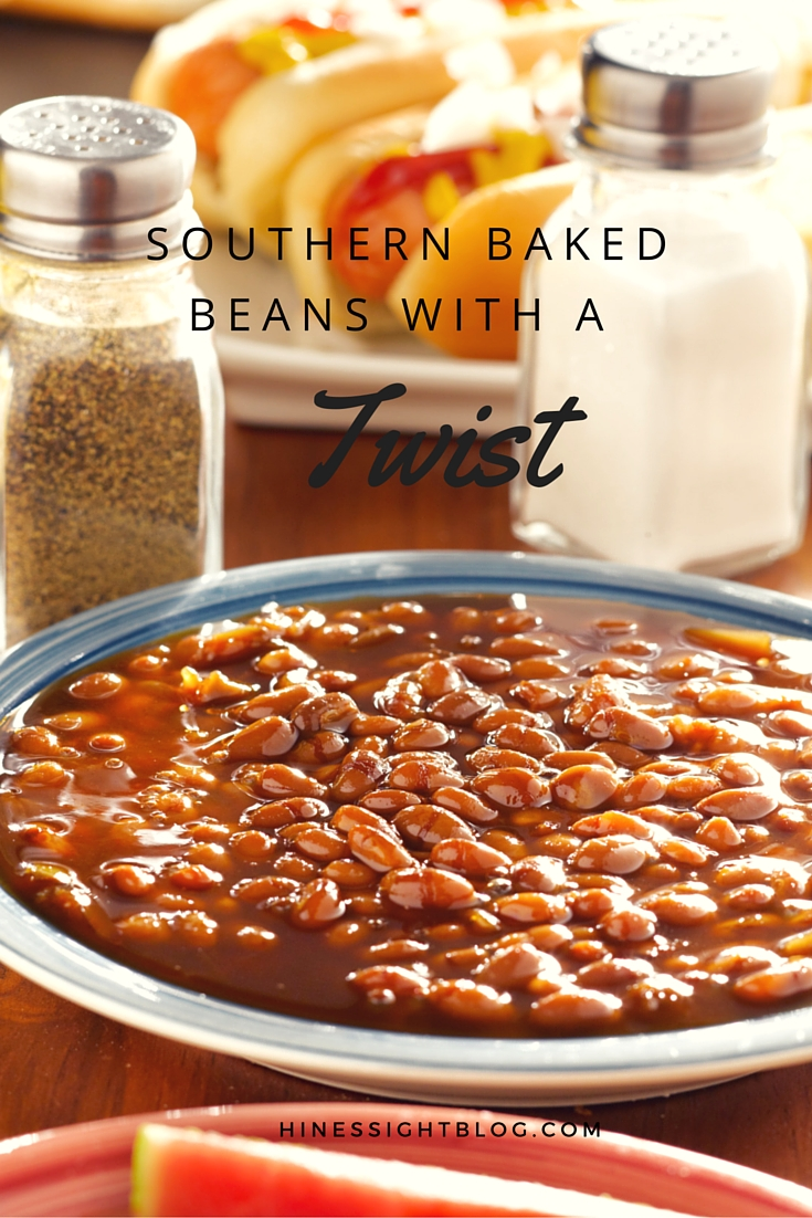 Hines sight blog reunion food southern baked beans with a twist easy baked bean recipe for summer get togethers and bbqs forumfinder Images