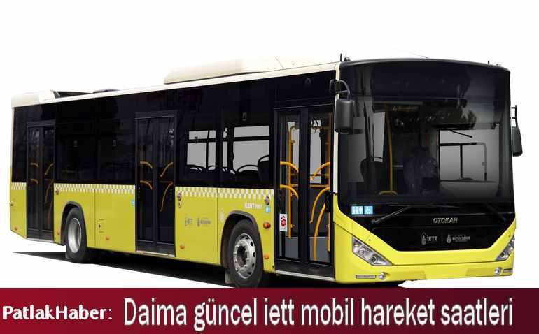 iett kadıköy taksim otobüsleri ve hareket saatleri