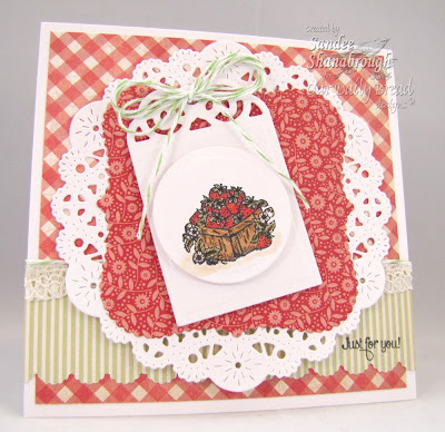 Our Daily Bread Designs, Recipe Card and Tags Die, Garden Mini, Sandee Shanabrough