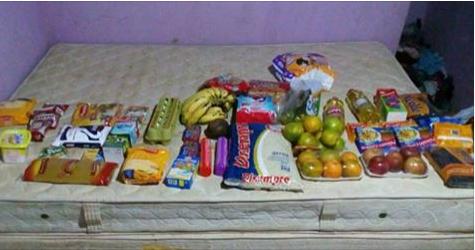 PMs montam cesta básica após ladrão dizer que roubou para alimentar bebê