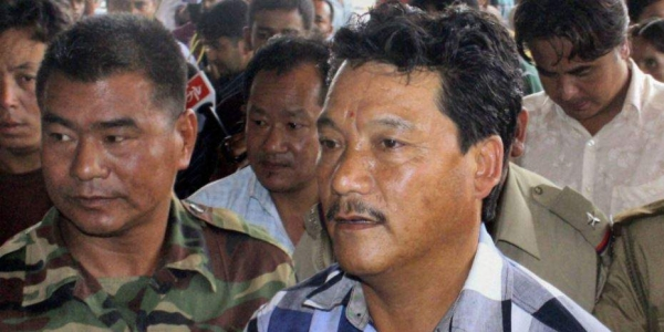 GJM Chief Bimal Gurung