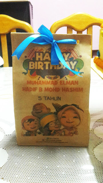 birthday tema boiboiboy