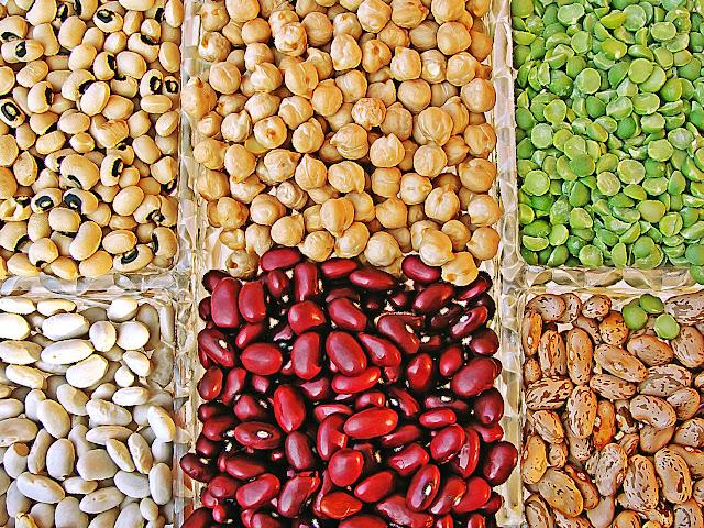 legumbres, fuente de proteína y -también- de hidratos de carbono