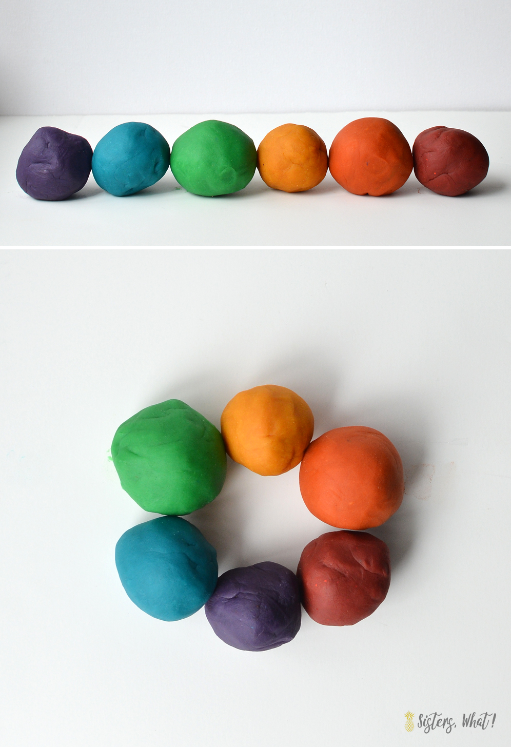This homemade playdough recipe last a long time and is easy to make.