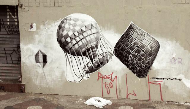 Мрачные рисунки на стенах. Ethos 15