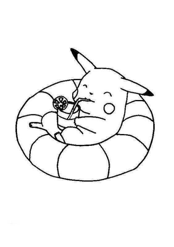 Tranh tô màu Pokemon 11