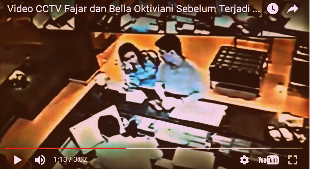 Inilah Aktivitas Fajar Firdaus Persada Putra dan Bella Oktaviani Selama di Hotel Cipulir [VIDEO]