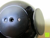 hinten: OriGlam® New Touching Schalter, Farbe Bar Design, 256 Farben-Licht-Lampe Atmosphäre Licht mit eingebautem Akku Verwendet als Schreibtischlampe Ambience Licht für Dekoration Weihnachts Yoga (schwarz)