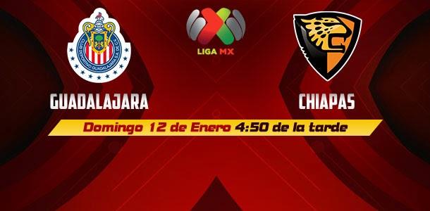 Chivas vs Chiapas en Vivo 2014