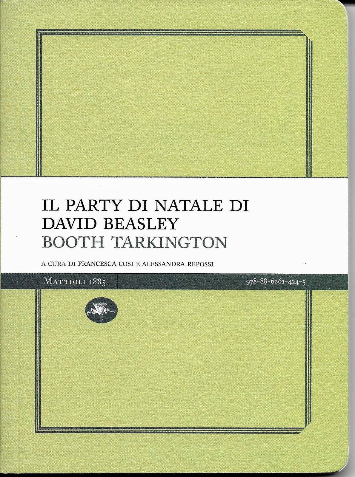 Il party di Natale di David Beasley-Booth Tarkington-Traduzione di Francesca Cosi e Alessandra Repossi - copertina