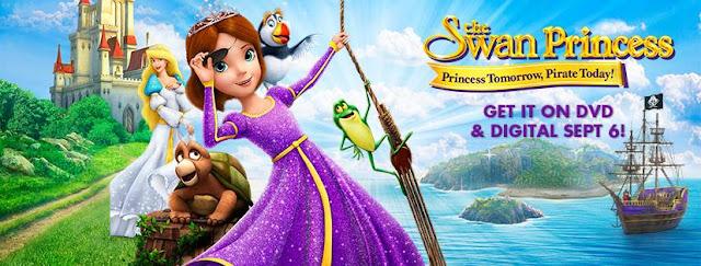 The Swan Princess: Princess Tomorrow, Pirate Today DVD Giveaway