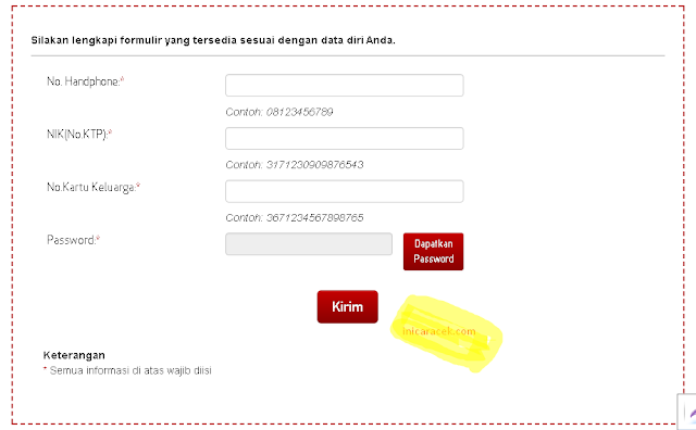 Registrasi Kartu Prabayar Telkomsel Melalui Web Resmi Telkomsel