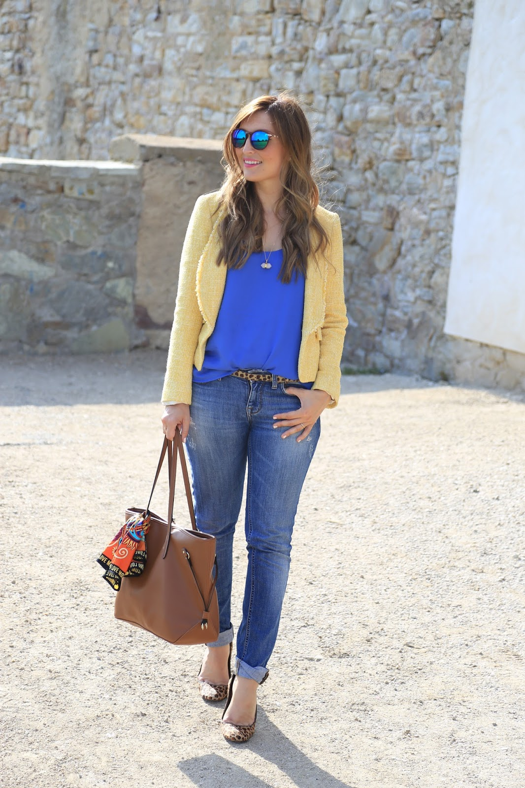 Sommer Looks Blogger - Fashionblogger - German Fashionblogger - Gelber Blazer - Olivia Palermo Look - NY Look
