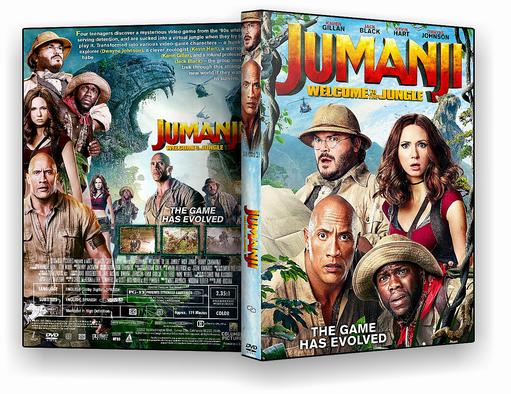 DVD-R Jumanji Bem Vindo a Selva – OFICIAL