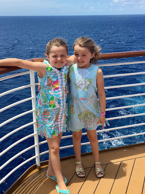 Disney cruise day 2 - Out to Sea