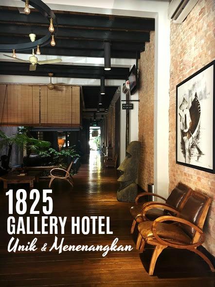 1825 Gallery Hotel: Tempat Ideal Untuk Berehat di Melaka ...