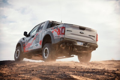 Off-Road Modified 2017 Ford F-150 Raptor