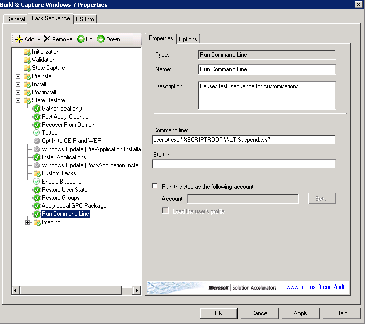 Gerry Hampson Device Management: Step 5  Advanced image