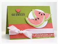 http://juliedavison.blogspot.com.au/2012/01/mouthwatering-watermelon-card.html