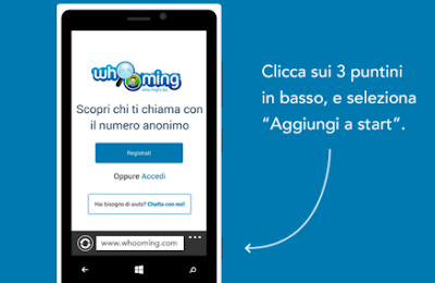 scoprire numeri anonimi windows phone