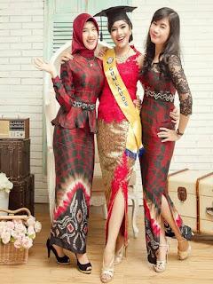 model rok batik panjang untuk kebaya