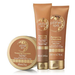 Planet Spa Pampering Chocolate Trio