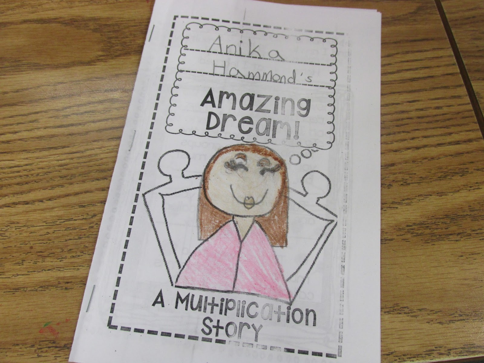 Third Grade Thinkers Write An Amazing Dream