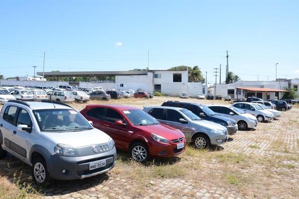 Detran leiloa 208 veículos no Rio Grande do Norte
