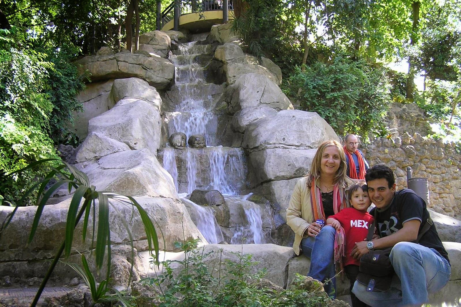 Parque de María Luisa, Monte Gurugú.