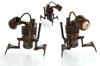 Arte con objetos reciclados