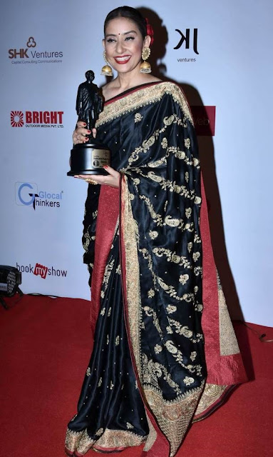 manisha-koirala-is-honored-with-most-versatile-actress