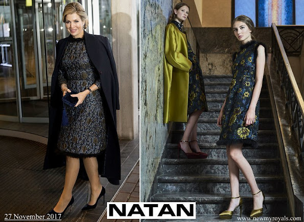 Queen Maxima wore Natan dress from Natan couture FW17 collection