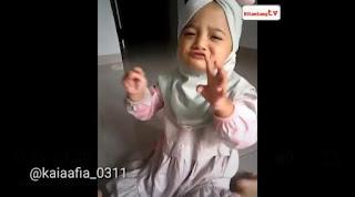 Video Lucu Nisa Sabyan Cilik Terlalu Menghayati Menyanyikan Lagu Sabyan Gambus
