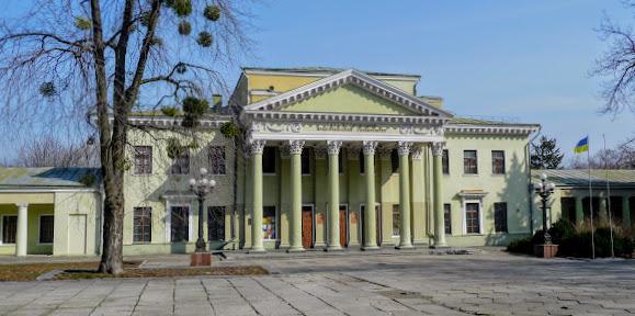 Днепр. Дворец студентов ДНУ, бывший Потёмкинский дворец, 1780 г