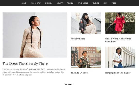 Temi Otedola Launches New Fashion Website