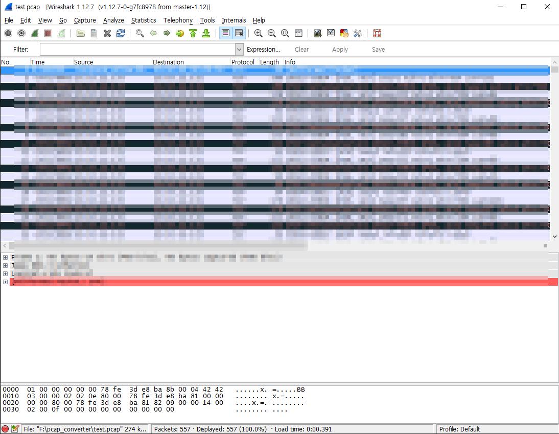 Jimmy's Factory :: FortiGate Packet Dump txt 파일 PCAP 변환 방법