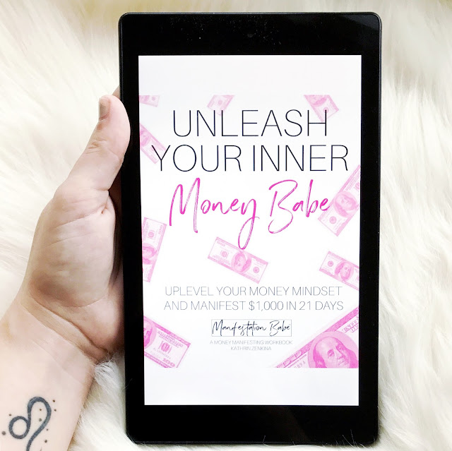 Manifestation: it seems like a popular buzzword lately! But it's more than just that.  It's a positive mindset that helps you achieve your goals and receive everything your heart desires.  Seriously, it works.  I actually manifested $1,000 in just three days using Unleash Your Inner Money Babe!  Check out my blog post to find the (affiliate) link to the book and find out how you can manifest everything you desire.