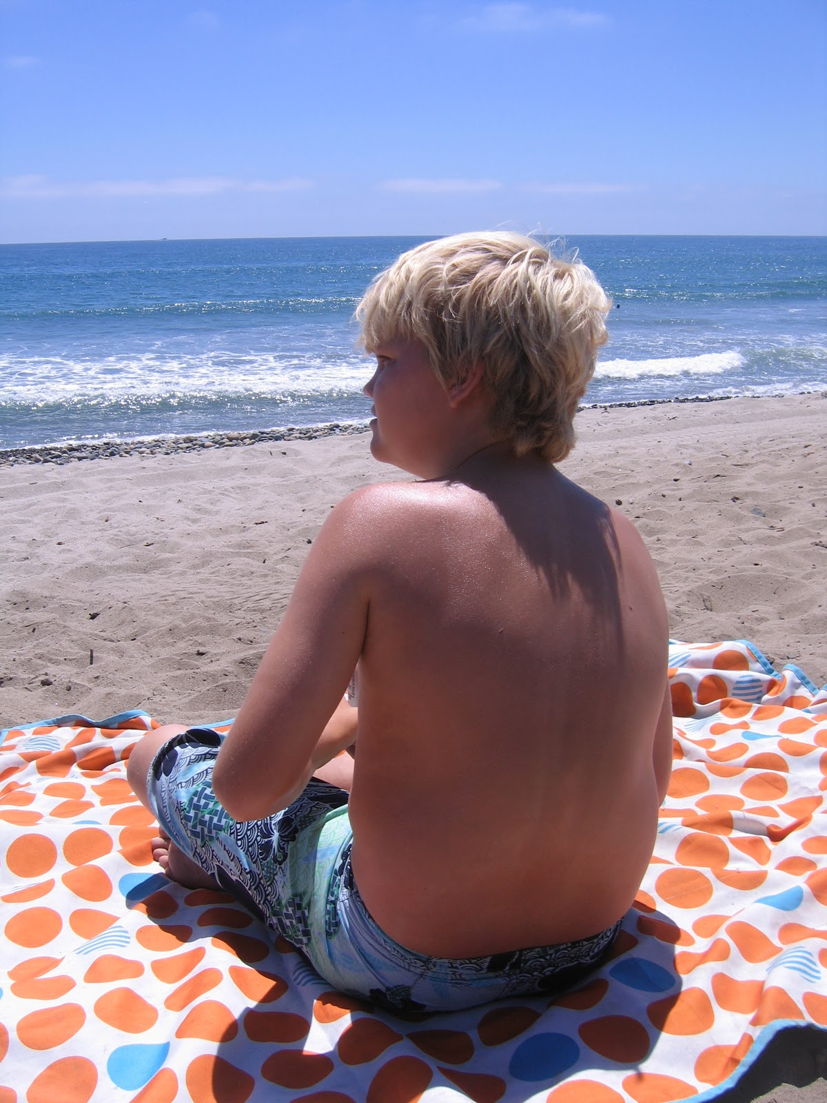 The Starnes Family: Camping Trip - San Onofre, California