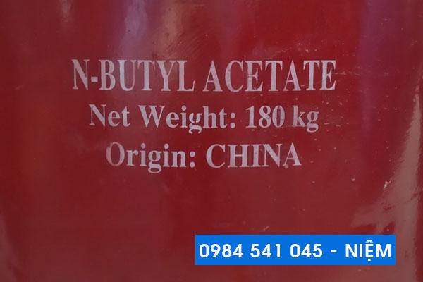 Dung môi công nghiệp n-Butyl Acetate