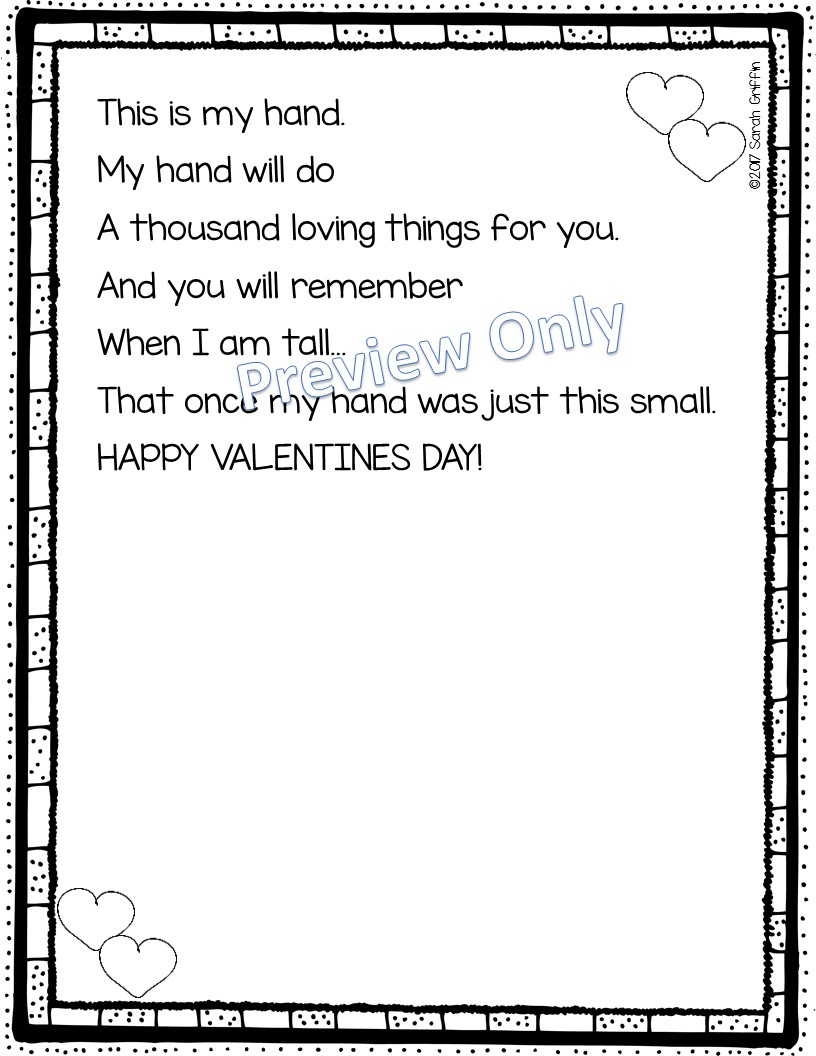 Daughters and Kindergarten: 5 Valentine's Day Poems for Kids