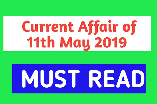 Current Affairs - 2019 - Current Affairs Today
