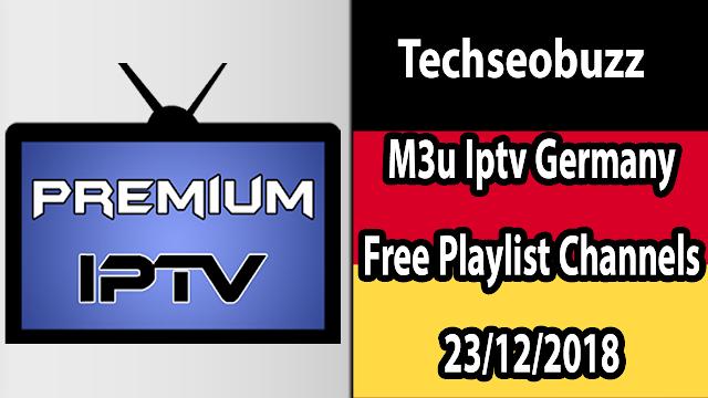M3u Iptv Germany Free Playlist Channels 23/12/2018
