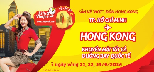 San Ve may bay 0 dong di Hongkong