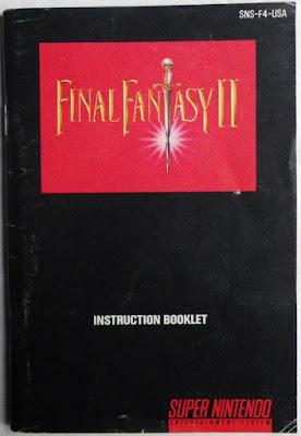 Final Fantasy IV - Manual portada