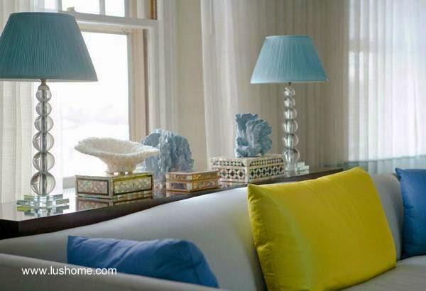 decoracin interior en sala de estar